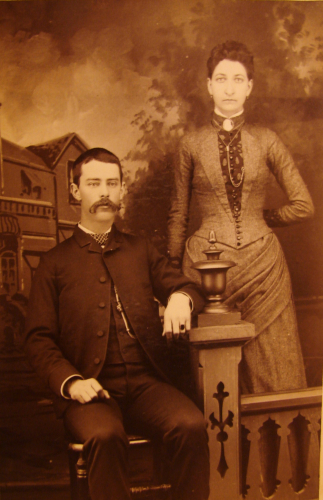 1860's Couple Portrait