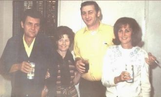 Fred Kroetch, Elaine Gillet, Frank Kroetch & Norma Finocchiaro