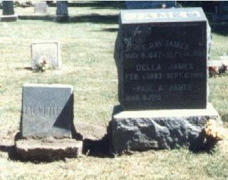Gravesite Of: Everett Ray James & Wifes