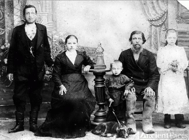 Moshonkin's family