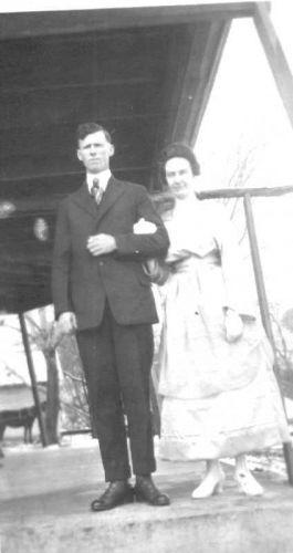 Posey & Ersula (Dickerson) Pugh