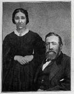 Sarah (Buchman) Cort and Daniel Cort