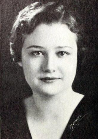 Medora Browning, South Carolina, 1933