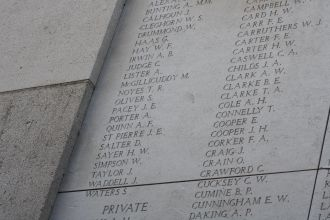 John Edwin Pacey memorial