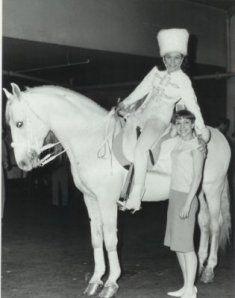 Ingeborg Rhodin with Amanda Stevenson