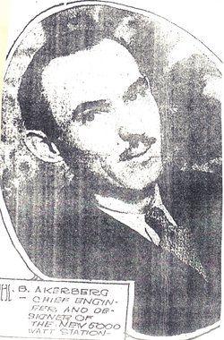 A photo of Herbert Akerberg