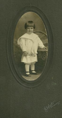 Gerald McGee, child