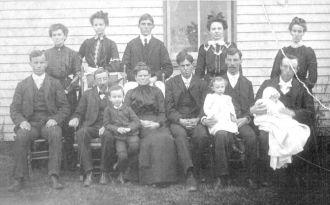 Flavius Josephus Mullen & Family