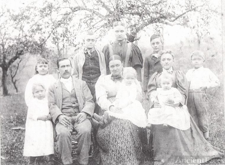 Family with 8 children