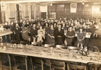 WPA Dinner about 1939