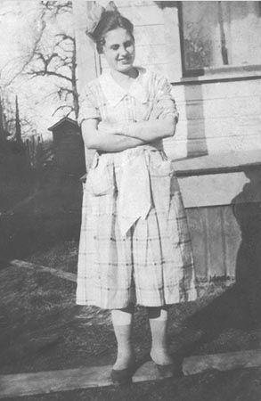 A photo of Dorothy Elaine (Ferguson) Kroetch