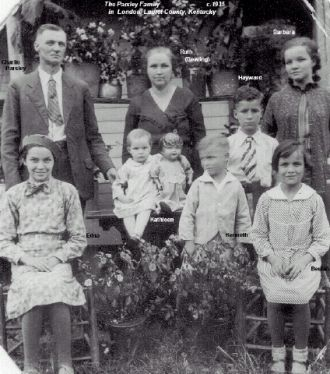 Charlie and Ruth Parsley & Family