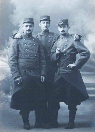 William Thaw, Charles Sweeny, Stewart Gastains(?)
