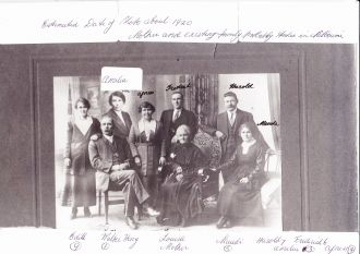 Henry Roly Dawson family