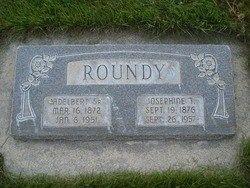 Adelbert Roundy headstone