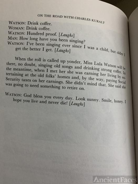 Lula Watson, pt 3