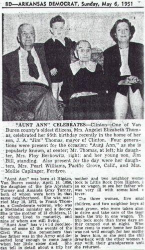 """Aunt Ann Celebrates"""