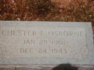 Osborne, Chester (grave stone)