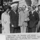 Al Jolsen, John Drew, and  President Coolidge