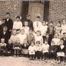 Nellie Wolfcale & Buckeye School 1915