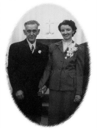 William Cain & Pansy (Hurworth) Daniels, 1950 ID