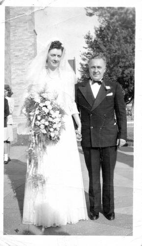 Mary (Lellis) and Charles Braun