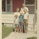Richard Snell, Thelma Grace (Sack) Snell and children.