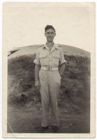 Dad somewhere in Palenstine