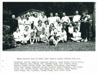 Burge Family Reunion