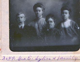 George E Sykes family