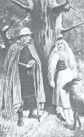 Helgi Halfdansson Legendary Danish King