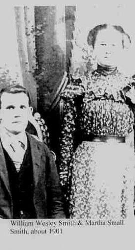William Wesley Smith & Martha Small