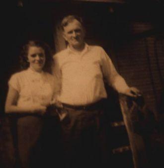 John Yeager & his daughter Mabel