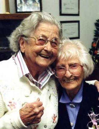 Harriet Dixon & Eunice Bowman