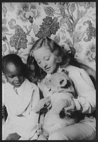 [Portrait of Tallulah Bankhead, and Julius Perkins, Jr.,...