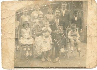 Tomáz e Dolores Soler family, Brazil 1958