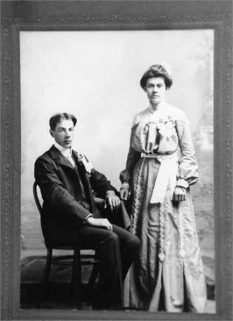 John and Josephine (Deschene) Rasmussen Wedding