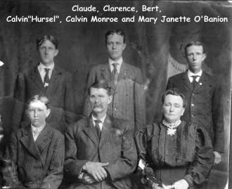 O'Banion Family c1900