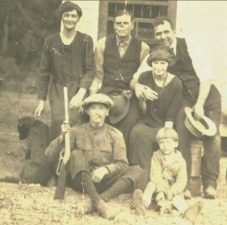 Elbert McFarland Cook And Family