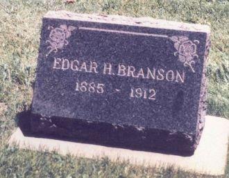 Edgar Henderson Branson Headstone