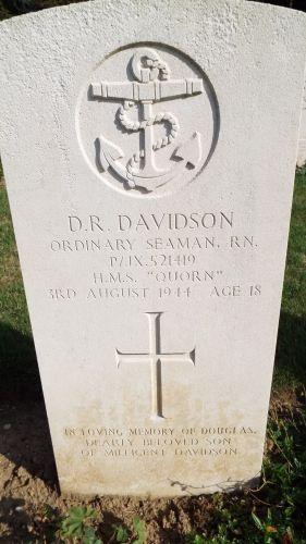 Douglas Ross Davidson Gravesite
