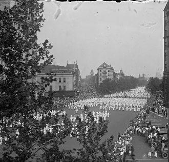 Klu Klux Klan Parade in Washington D.C.