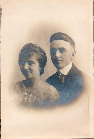 Earl and Edna Agatha (Plunkett) St. Clair