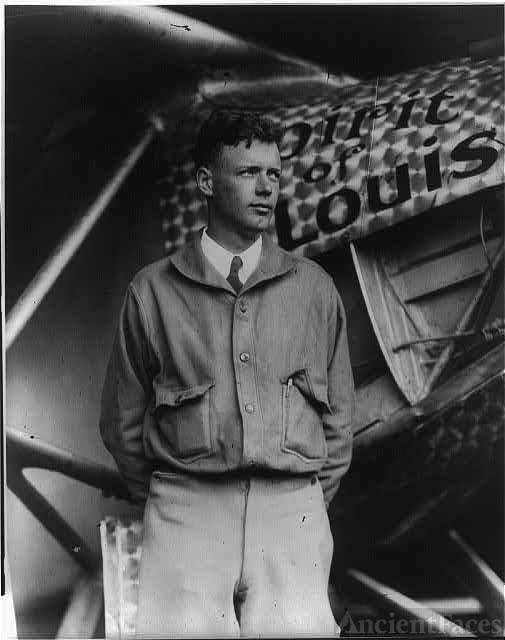 Charles A. Lindbergh, May 1927
