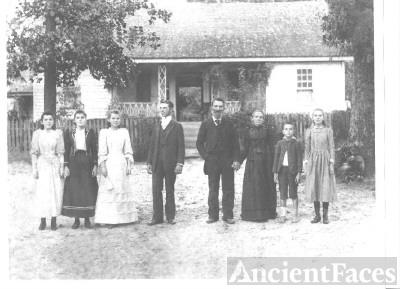 Daniel Harrison Agnew & Family, Georgia