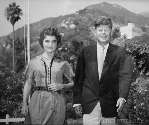 Jack and Jackie Kennedy Honeymoon