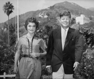 Jack and Jackie Kennedy Honeymoon