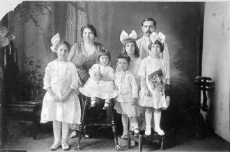 The Rosato Family, 1917