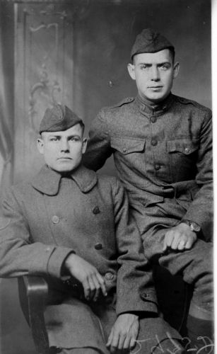 Howard Ralya (on left)