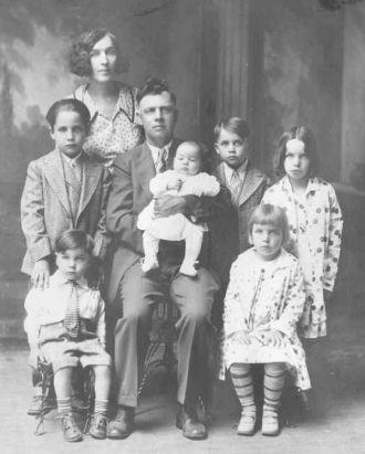 George Palmer Family 1929